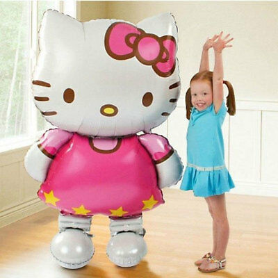 two 46'' Hello Kitty Ultra Large Balloons