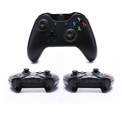 Bluetooth Wireless Game Controller Gamepad Joystick Microsoft Xbox One Black