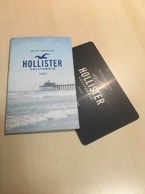 Hollister £28 Giftcard Voucher Online Or Store Shop In Sleeve Case Gift Card A&F