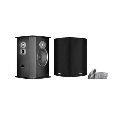 Polk Audio FXiA6 Black Pr Bi Pole Di Surround Sound