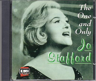 CD Jo Stafford THE ONE AND ONLY / 20 original Capitol recordings