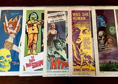 Lot Of 11 Sci Fi Horror  Lobby Cards Vintage 1950's 1960's