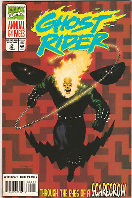 Ghost Rider Annual #2 FN/VF 1994 Marvel Comics Scarecrow 64-page 1990 2nd series