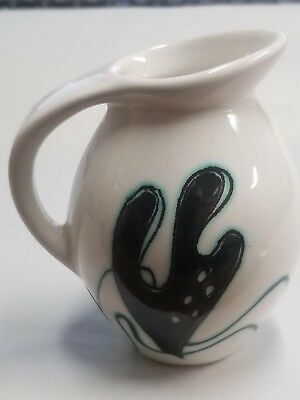 MCM OCTOPUS Royal Gouda Holland Art Pottery Hand Painted Mini Creamer Pitcher