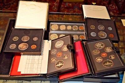 Lot of Canadian Proof/Silver Mint Sets and a US Uncirculated set .99c NO RESERVE