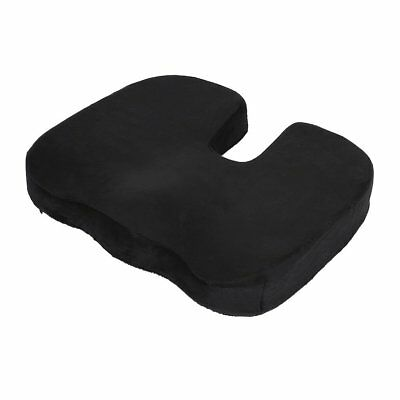 Office Chair Memory Foam Coccyx Orthoped Seat Pad Support Lumbar Cushion