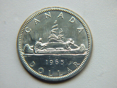 1965 Canadian Silver Dollar.
