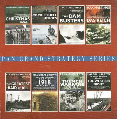 MILITARY MASTERPIECES: dam busters, christmas truce, the western front, 1918 x 8