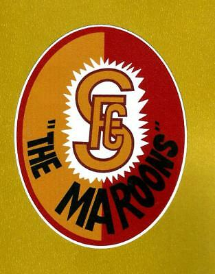 "SUBIACO ""THE MAROONS"" Vinyl Decal Sticker PETROL PROMO WAFL afl vfl"