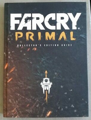 Far Cry Primal Collector's Edition Game Book Guide