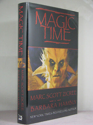 1st, signed by both, Magic Time 1:Magic Time by Marc Scott Zicree,Barbara Hambly