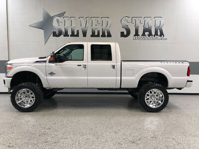 2015 Ford F-250  2015 F250 Platinum Powerstroke LIFT AmericanForce AMPsteps Loaded NorthTexas!