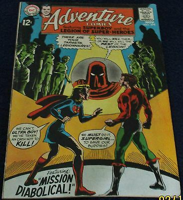 Adventure Comics featuring SuperBoy and the Legion Of Super-Heroes DC Comics1968
