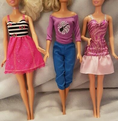 New Barbie doll outfits/ clothes/ dress and shoesx3  good quality   (lot 6)