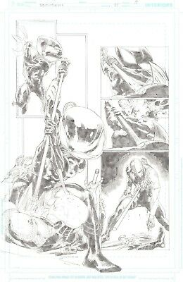 Deathstroke the Terminator 25 page 19 by Carlo Pagulayan Black Manta