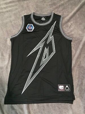 Metallica Basketball Jersey 2XL Ride the Lightning 30th Anniversary XXL New NW