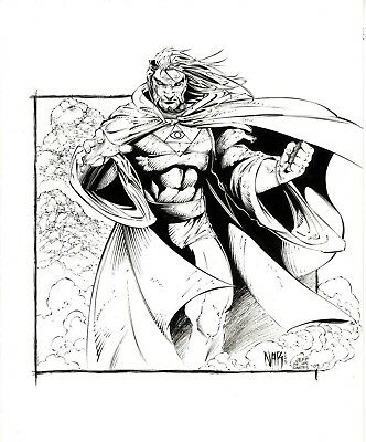 Dr Druid by of the Avengers Nar and Jeff De Los Santos