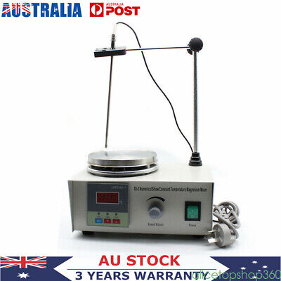 220-240V Magnetic Stirrer 85-2 With Hotplate Digital Heating Plate Lab Mixer NEW