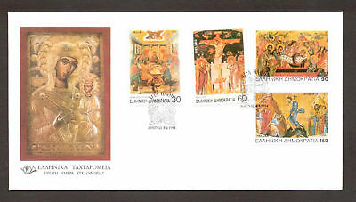 Passions Week of Christ 1994, The Last Supper The Crucifixion Ressurection, FDC