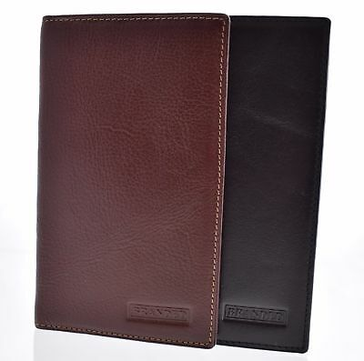 New Mens Gents Branded Leather Jacket/Coat Wallet Credit Card Passport Purse
