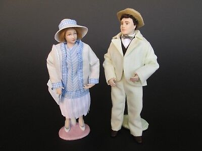 1:12 doll of 1920 for dollhouse Dollshouse dolls by Paola&Sara Miniature