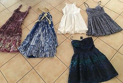 Bulk lot 5 x Ladies Size 8 Dresses 2x NEW + TAGS Pure Hype, Ice, TEMT, Citi, MNG