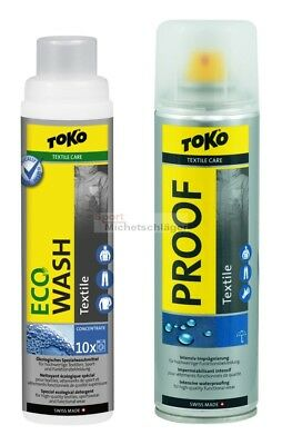 TOKO Duo-Pack Textile Proof+Eco Wash Textile Funktionswaschmittel+Imprägnierung