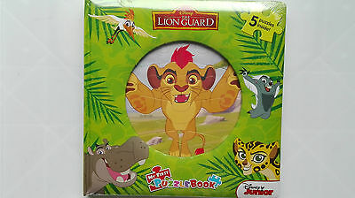 Disney The Lion Guard: My First Puzzle Book ~ 5 Puzzles ~ Brand New +Sealed