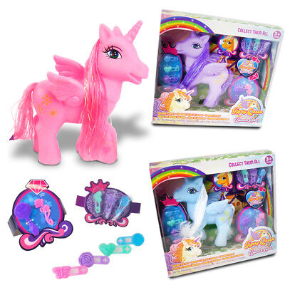 Unicorn Toy Doll Horse Queen Girls Hair Gift Playset Magic Dress Up Collectables