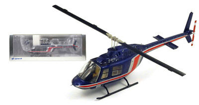 Spark S1773 Bell206B Jet Ranger II 'Team Lotus Essex' Helicopter 1981 1/43 Scale
