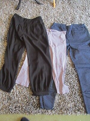 Bundle Of 9 Pairs Of Ladies Jeans/trousers/crops, Size 16/18 R/s, Exc-Con