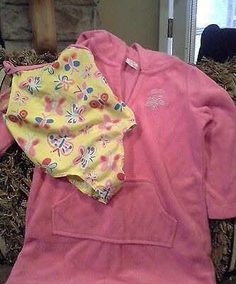 Girls size 18 month swimsuit and coverup