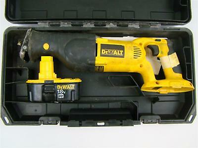 DeWalt 18V DW304P Reciprocating Saw DC385 Sawzall