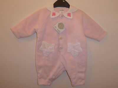 Les Bebes Baby Girls Warm Footless Sleepsuit Playsuit 3 Months NEW GIFT RRP £40