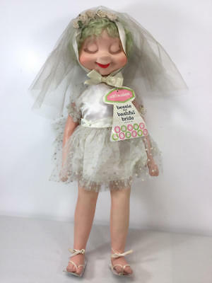 Vintage American Character Whimsies Bessie The Bashful Bride Doll