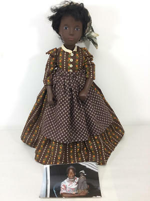 Sasha Cora Doll Dressed As Prissy-Gone With The Wind Held By Butterfly Mcqueen
