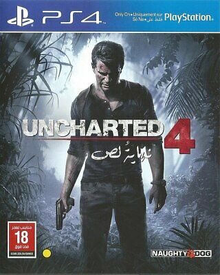 Uncharted 4 A Thiefs End PS4 NEW  DISP. BY 2 P.M.