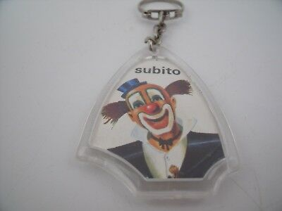 Porte-Clés / Key Ring / Chocolat MEUNIER CLOWN SUBITO CIRQUE / CIRCUS CHOCOLATE