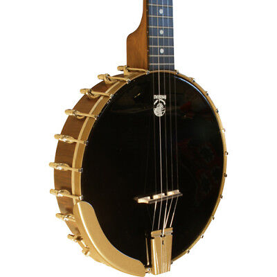 Deering (USA) - Woodsongs Campfire Long Neck Banjo mit Koffer