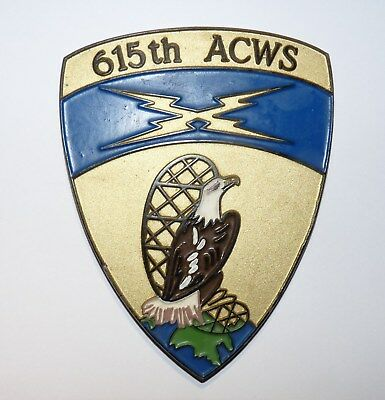 org.US Wappen Erbeskopf CRC 615th ACWS Air Control and Warning Squadron