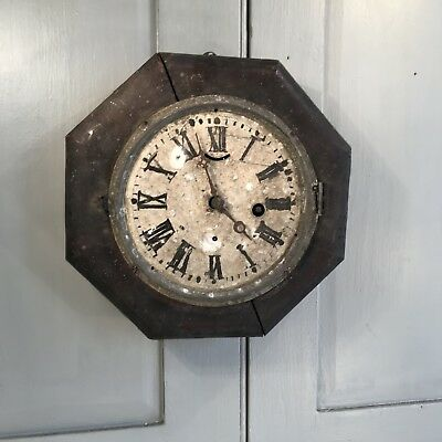 Antique wall mounted clock