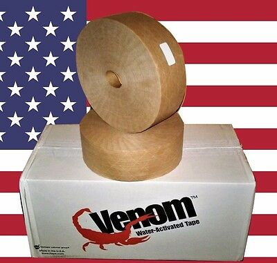 Intertape Venom Water Activated Reinforced Sealing Tape (K9306) 70 MM X 1000 FT