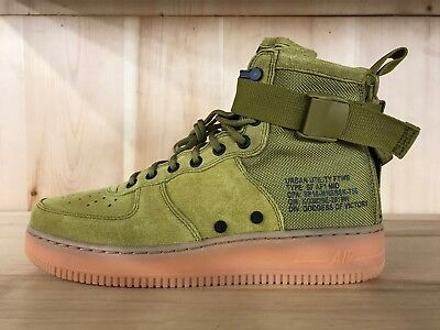 27ca81cce387e NIKE SF AF1 Mid Special Field Air Force 1 Mid Desert Moss Sz 8-13 ...
