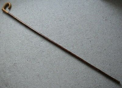 A Tall, Crook Handle, Country Walking Stick/Market Stick.