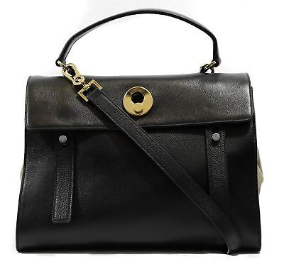 73896b5445579 NEW YSL SAINT LAURENT Muse Two Leather Suede Top Handle Handbag ...