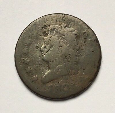 1808 One Cent Classic Head