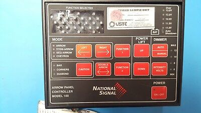 US Traffic Corporation, Arrow Panel, National Signal, 2153801, For Parts Only
