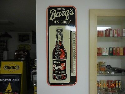 1952 Barq's Root Beer Thermometer