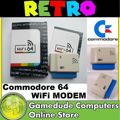Commodore 64 WiFi Modem MODEL : WiFi64 [F03]
