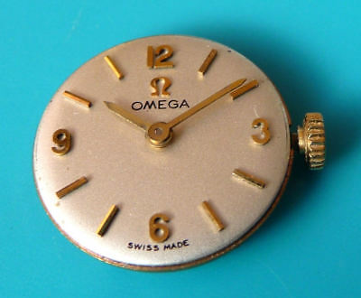 VINTAGE 1968 Cal. 620 OMEGA COMPLETE MOVEMENT - READY TO USE -SEE 5 PICS + VIDEO